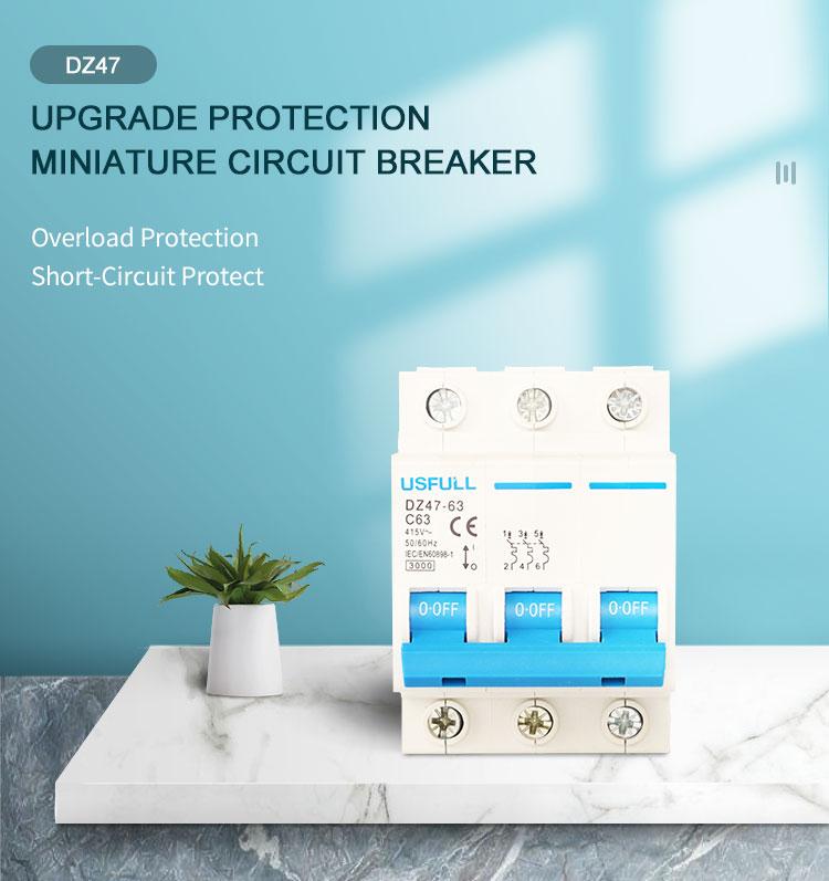 USFULL DZ47 type circuit breaker